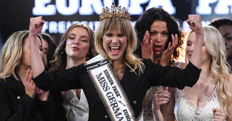 É mãe, tem 35 anos e é a nova Miss Alemanha (sem ter desfilado em biquíni)