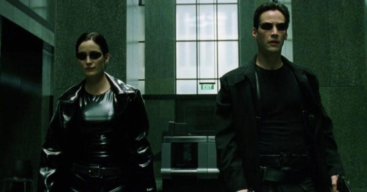 """Neo e Trinity juntos nas primeiras imagens de """"Matrix 4"""""""