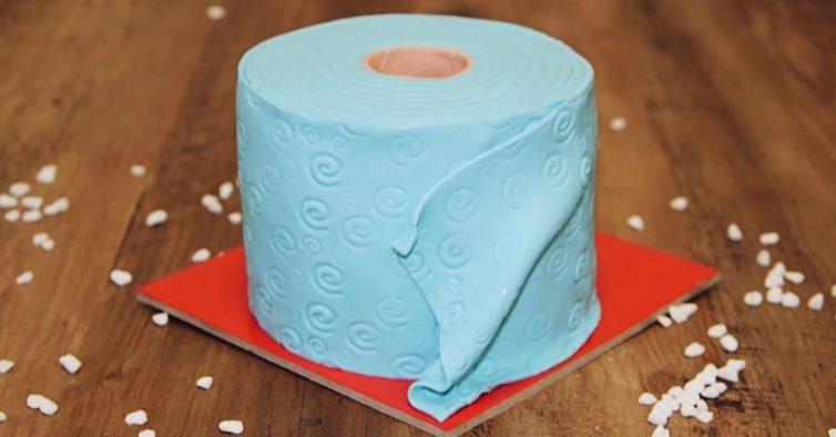 Os bolos em forma de papel higiénico chegaram a Portugal e estão a ser um sucesso