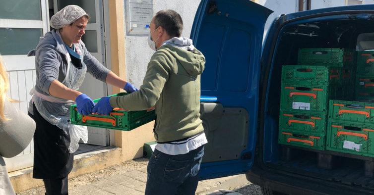 Mercadona ajuda restaurante do Porto a fazer refeições para os sem-abrigo