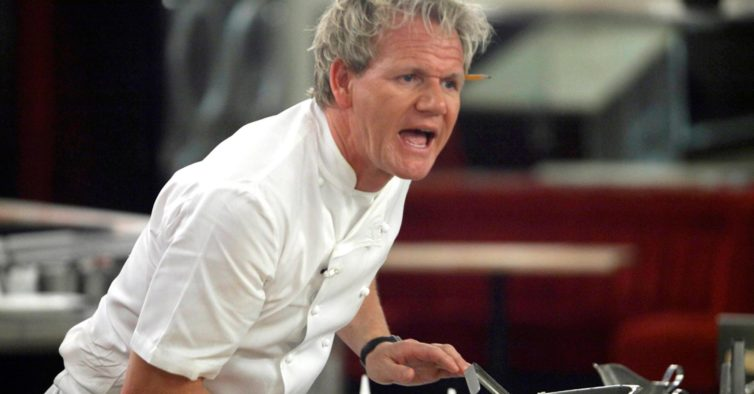 Depois de despedir 500 funcionários, Gordon Ramsay reage às críticas com insultos