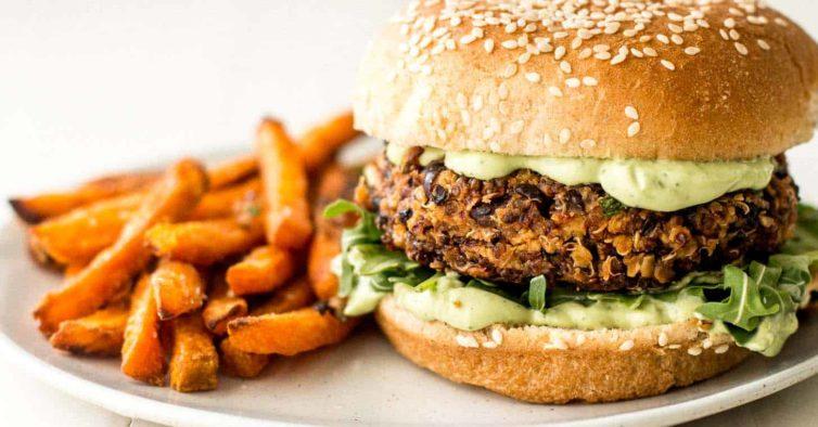 hambúrgueres vegetarianos