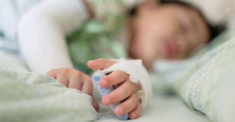 Há 14 crianças internadas com o novo coronavírus no Hospital Dona Estefânia