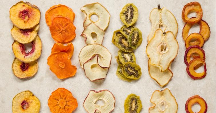 Há novos snacks de fruta desidratada 100% natural