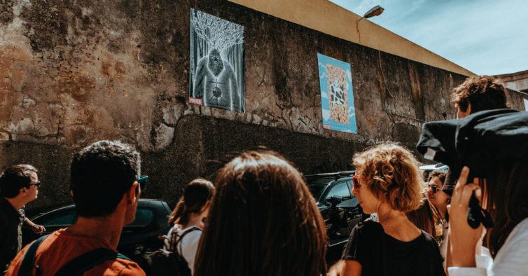 Marvila volta a encher-se de posters numa mostra artística a céu aberto