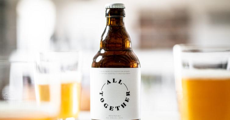 All Together: a nova cerveja solidária que vai ajudar restaurantes