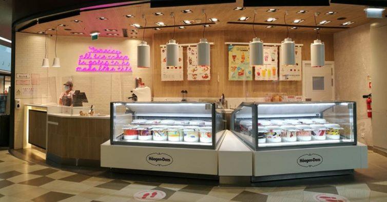 Häagen-Dazs abre mais lojas e traz de volta o gelado de mirtilos