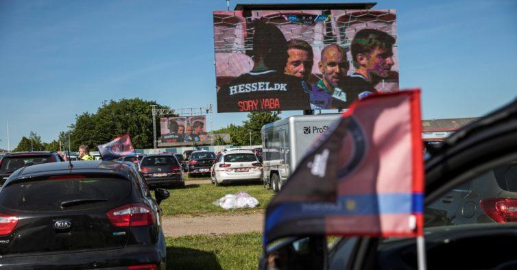 Vila do Conde vai ter um drive-in para ver jogos de futebol dentro do carro