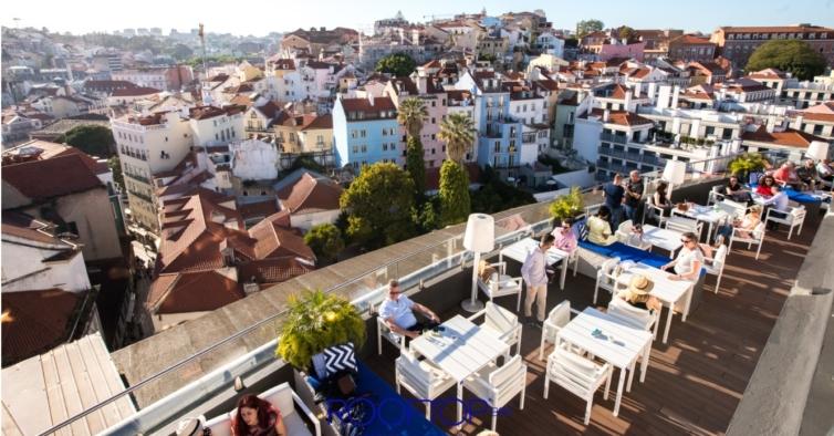 Já pode ir beber um copo ao rooftop bar do Hotel Mundial em Lisboa