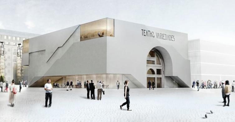 Abandonado desde os anos 90, é assim que vai ficar o novo teatro no Parque Mayer