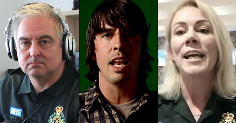 Música dos Foo Fighters tocada por paramédicos em iniciativa solidária torna-se viral