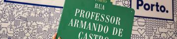 Já pode comprar a placa original com o nome da sua rua favorita do Porto