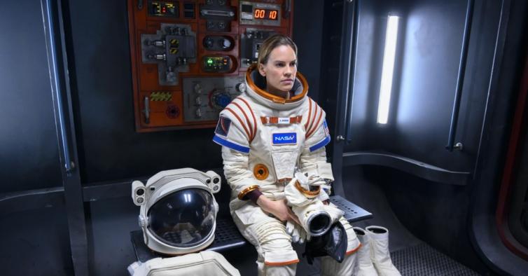 Hilary Swank vai para o espaço profundo na nova série da Netflix