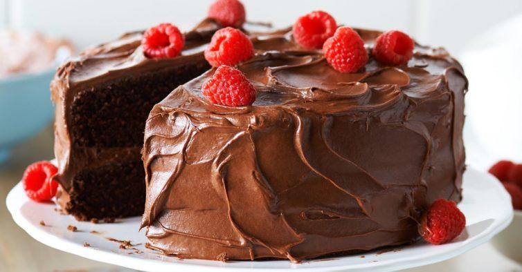 Bolo de chocolate saudável sem farinha