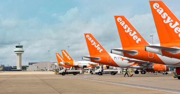 Este avião da EasyJet não se despenhou em Lisboa por um segundo