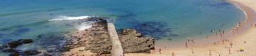 Praia dos Pescadores, na Ericeira, está interdita a banhos desde sexta-feira