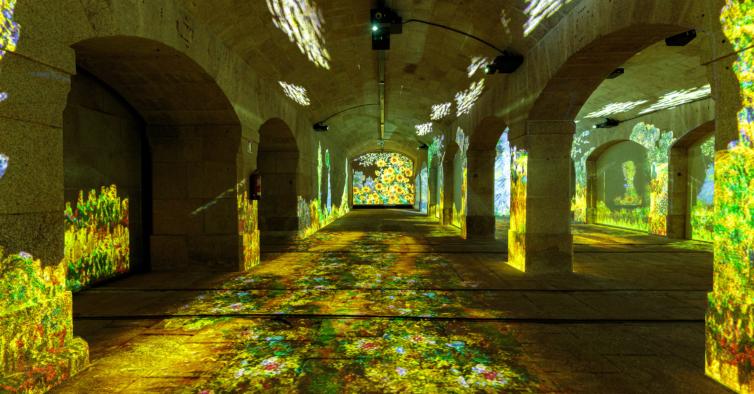 Porto vai receber exposição imersiva com obras de Monet e Klimt