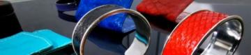 Esta empresa usa pele de salmão para fazer pulseiras e carteiras de luxo