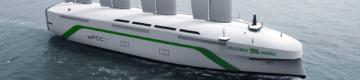 Os suecos querem construir um navio de carga movido a energia eólica