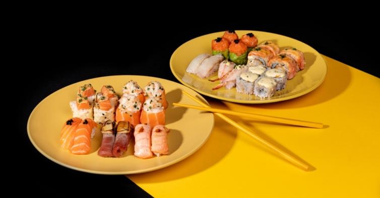 Há novos menus de sushi com foie gras e trufas para comer em casa