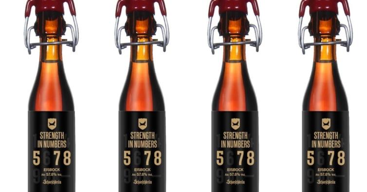 A cerveja mais alcoólica do mundo foi criada por duas marcas rivais